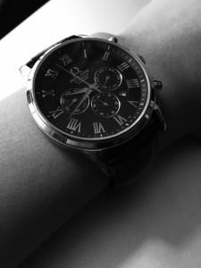 20141202 蔣薇 男人的第一隻錶black and white